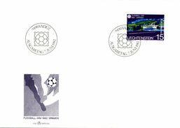 TIMBRE EMISSION 1er JOUR LIECHTENSTEIN 1982 - Liechtenstein