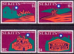 ST KITTS 1980 SG #49-52 MNH Christmas - St.Christopher-Nevis-Anguilla (...-1980)