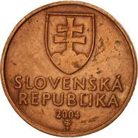 Slovaquie, 50 Halierov, 2004, TTB, Copper Plated Steel, KM:35 - Slovaquie