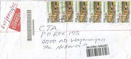 Nigeria 2017 Potiskum Benua Bridge N100 Barcoded Registered Express Cover - Nigeria (1961-...)