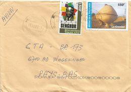 Togo 2017 Lome Senghor 150f Grenier 550f Cover - Togo (1960-...)
