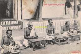 CPA  TAMIL JEWELLERS CEYLON - Sri Lanka (Ceylon)
