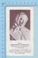 Image Reliquaire - Relique De Sainte Marguerite Bourgeoys, Sceau Congr. Notre-Dame De Montreal - Religion & Esotericism