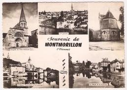 86 - Montmorillon Souvenir Multivue - Montmorillon