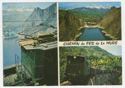 {73027} Chemin De Fer Saint Georges De Commiers La Mure Par Gorges Du Drac ; Barrage Du Monteynard, Viaduc De La Loulla - Trains
