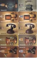 32 Télécartes Différentes - Série Téléphone (bon état) - Téléphones
