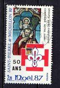 St Pierre Et Miquelon  1987   Saint Christophe - St.Pierre & Miquelon