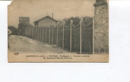 Rare CPA - SANNOIS  - VITURAT - Treillageur - Travaux Rustiques - 93, Boulevard Maurice Berteaux - Non Circulée - Sannois