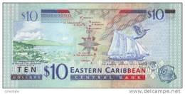 EAST CARIBBEAN STATES P. 43m 10 D 2003 UNC - Caraïbes Orientales