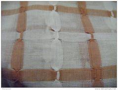 Piece De Tissu  Coton Pour Rideau Larg.60 Cm  Longueur 6.80m     -vintage - Draps/Couvre-lits