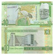 Gambia -10 Dalasi 2015 UNC - Gambie