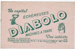 Sept17  79505    Buvard   écrémeuses Diabolo   Paris - Agriculture