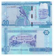 Gambia - 20 Dalasi 2015  - 17 UNC - Gambia