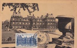 Carte-Maximum FRANCE N° Yvert 760 (PALAIS Du LUXEMBOURG) Obl Sp Palais Du LuXembourg - 1940-49