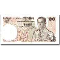 Thaïlande, 10 Baht, 1969, 1969-06-24, KM:81, B - Tailandia