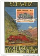Cook Inseln / Cook Islands - Maxicard (E641) - Eisenbahnen