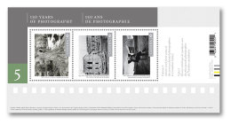 CANADA 2017  #3010-1, CANADIAN PHOTOGRAPHIES #5   2 SS  Of 5 Stamps Mnh - Blocs-feuillets