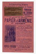 Sept17  79484    Buvard     Papeteries Du Marais  Paris - Papeterie