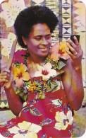 Fiji Getting Ready For The Dance - Fiji