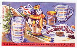 Sept17  79483    Buvard    Moutarde Couronne De Dijon - Mostard