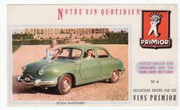 Sept17  79482    Buvard    DYNA PANHARD   VIN PRIMIOR - Automotive