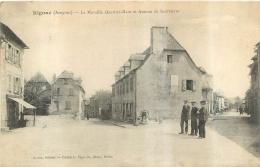 RIGNAC  LA MURAILLE QUARTIER HAUT ET AVENUE DE SAUVETERRE - France