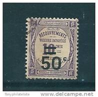 France Timbre Taxe De 1917 N°51  Oblitéré (cote 4€50) - Postage Due