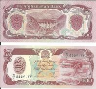 Afganistan - 100 Afgani 1991 UNC - Afghanistán