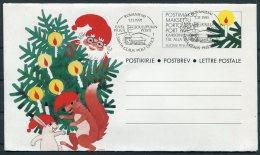 1991 Finland 4 X Christmas Stationery,Postbev. Santa Claus,Reindeer Rovaniemi - Finlandia