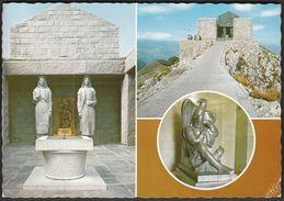 Montenegro Lovcen Cetinje / Mauzolej Petra II Petrovica Njegosa / Monument - Montenegro