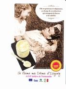 CREME D'ISIGNY, A.O.P. Laitière De Normandie, Amoureux Sur L'herbe, Ed.Ecom-Epub.fr - Publicité