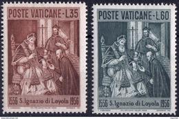 Vaticano 0230/231 ** MNH. 1956 - Vaticano (Ciudad Del)