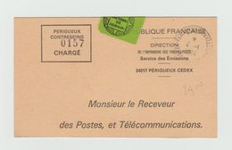 Carte Service Des Emissions - PERIGUEUX - Vignette Imprimerie Des Timbres Poste - Péeigueux - Other