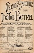 Partition Ancienne - Chansons Bretonnes De Théodore Botrel. - Le Petit Goret. - Scores & Partitions