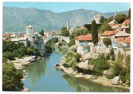 JUGOSLAVIA/BOSNIA HERZEGOVINA - MOSTAR / MOSQUE / BRIDGE /PONT - Bosnia Erzegovina