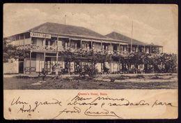 QUEEN's HOTEL / BEIRA / Mozambique. Postal MOÇAMBIQUE 1910s Editor J.R.Carvalho, Royal Studio, Beira. - Mozambique