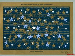 Denmark  Christmas Full Sheet Mnh. 2007. Imperforated. Stars - Unclassified