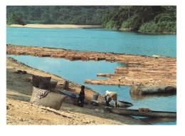 18523  CPM  GABON  : Débarcadère De SINDARA  Sur La Ngounié  ! - Gabon