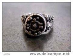 Bague Bédouine Début XIXème / Beginning Of The XIXth Century Bedouin Silver Ring - Bagues