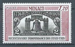 Monaco YT N°1055 Indépendance Des Etats-Unis Neuf ** - Monaco
