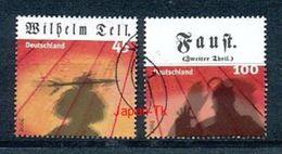 GERMANY  Mi.Nr. 2391-2392 Klassisches Theater - Used - Gebraucht