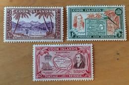 Cook Islands MH*  -  1949  - # 131/133 - Cook Islands