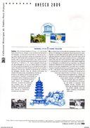 """(Prix à La Poste = 5 €) Document Officiel DPO 2009 """" UNESCO 09 : SUZHOU CHINE / OURS POLAIRE """" N° YT Serv 144 145 - Postdokumente"""