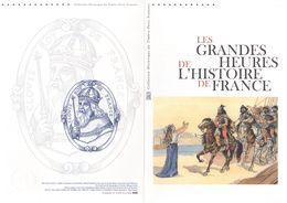 """FRANCE 2012 : Doc Officiel De 4 Pages """" HISTOIRE DE FRANCE : STE GENEVIEVE - CLOVIS Ier """" N° YT F4704. Parfait état. DPO - Non Classificati"""