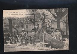 NANTES  Mi Careme 1922 Renflouement Et Scaphandrier    (  Très Très Bon état )  Ti 723) - Nantes