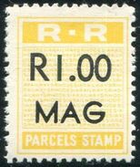 Rhodesia Railways Bechuanaland Botswana MAG ( Mahalapye ) R1 Parcel Eisenbahn Paketmarke Chemin De Fer Colis Railway MNH - Trains