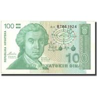 Croatie, 100 Dinara, 1991, 1991-10-08, KM:20a, TTB+ - Croatia
