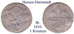 DL-1810, 1 Kreutzer Hessen-Darmstadt - Piccole Monete & Altre Suddivisioni