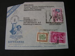 Uruguay Cv.1957  SST Lufhansa - Uruguay