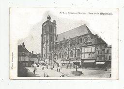 Cp, 51 , SEZANNE , Place De La République , Photo. : D'Ivory , Voyagée 1905 - Sezanne